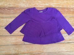 Garanimals 24 months purple long sleeve shirt