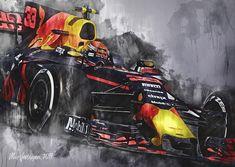 Ferrari, Speed Art, Red Bull Racing, Citroen Ds, F 1, Formula One, Motor, Monster Trucks, Cool Stuff