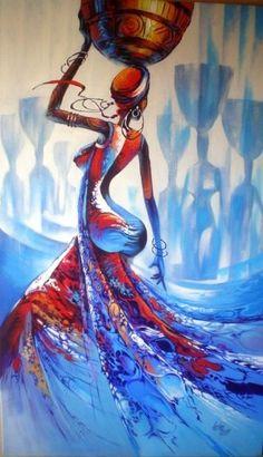 Arte Africano, sacada de la Web