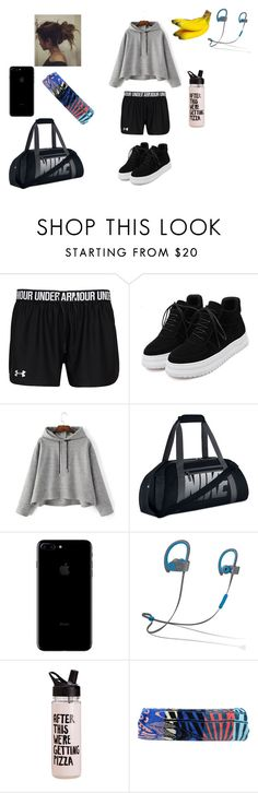 """""""Good Gym day"""" by jasmine-fry on Polyvore featuring NIKE, Beats by Dr. Dre, ban.do and Mara Hoffman"""