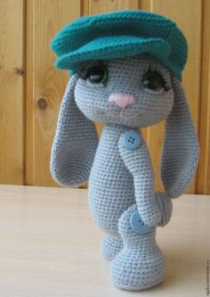 We have put together the most beautiful amigurumi knitting toy models.Beautiful amigurumi knitting patterns that you can enjoy with pleasure. 2019 Amigurumi Crochet Free Patterns - Amigurumi World This Pin was discovered by Mal satin stitch flower with pi Crochet Baby Toys, Easter Crochet, Cute Crochet, Crochet Animals, Crochet Dolls, Christmas Crochet Patterns, Crochet Patterns Amigurumi, Crochet Stitches, Knitted Bunnies