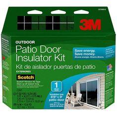 <b>Features</b><ul><li>Exterior Patio Door Insulating Kit</li><li>Includes in. x Yards Tape</li><li>Clear As A Glass</li><li>Keeps Out Drafts.</li><li>Dimension x x in. Exterior Patio Doors, Home Hydroponics, K Tape, Investment Tips, Door Kits, Window Hardware, Window Film, Windows And Doors, Save Energy
