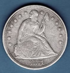 Silver Dollar 1871 US Coin