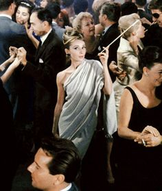 Greatest party scene ever.....Breakfast at Tiffany's