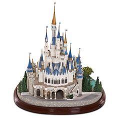 Brand New CINDERELLA CASTLE Olszewski Miniature - DISNEYWORLD MAIN ST. USA