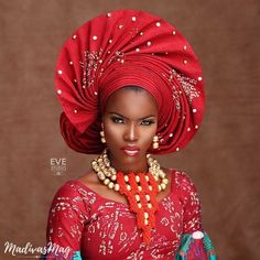 Hey Fashionistas, Congrats on your next wedding party. Today we look critically at top Gele style to make our next wedding fabulous. African Wedding Attire, African Attire, African Wear, African Women, African Dress, African Head Scarf, African Head Wraps, African Traditional Wedding, Latest African Fashion Dresses