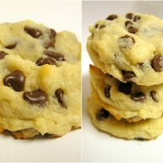 chocolate chip cheesecake cookies - kylee ann