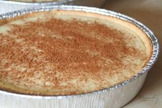 Melktert - south african milk tart similar to European custard tarts. filling is encased by sweet shortcrust pastry and is sprinkled with cinnamon. Milk tarts can be oven baked or set in the fridge. South African Desserts, South African Dishes, South African Recipes, Sweet Pie, Sweet Tarts, Melktert Recipe, Tart Recipes, Dessert Recipes, Custard Recipes