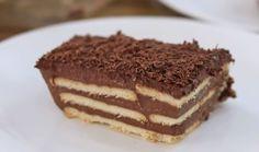 Biscuits au pouding chocolat , gâteau sans cuisson pour votre café du goûter ou dessert, Faites ce délicieux biscuit facilement .