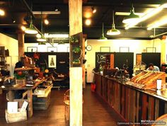 Orox Leather Co. workshop and store in Portland Oregon