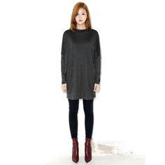 Today's Hot Pick :無肩線長版T恤 http://fashionstylep.com/P000BBTD/ju021026/out 無肩線的寬鬆設計長版T恤 舒適好穿又方便活動 伸縮材質舒適好穿 簡約的單色設計有型且活用度高
