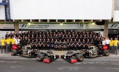 Twitter / Recent images by @Lotus_F1Team