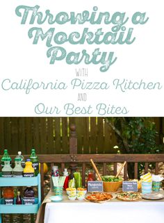 throwing a mocktail party