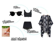"""""""Boho Day"""" by angleighgab on Polyvore featuring Chloé, Beth Richards and socute"""