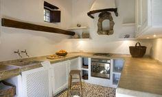 mallorcan villa kitchen