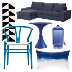 In the Navy | Moodboards | housetohome.co.uk