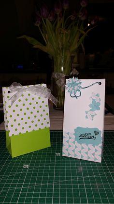 Geschenktüten als Mitbringsel, Geburtstagsgeschenk oder für sich selbst #stampinup #bastelkram