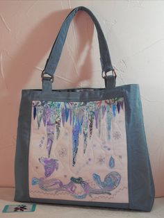 This exclusive bag features a textile art panel based on an acrylic painting that I produced, making it a unique and distinctive accessory for the discerning buyer. Acrylic Artwork, Belt Bags, Panel Art, Luxury Bags, Uk Shop, Textile Art, Bag Making, Machine Embroidery, Original Art