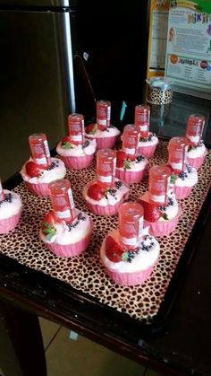 Kinky Cupcakes 21st Birthday Cupcakes, 21st Birthday Decorations, Adult Birthday Cakes, Birthday Cookies, 21 Bday Cake, 21 Birthday, 21st Birthday Gifts, Alcoholic Cupcakes, Alcoholic Desserts