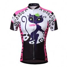 899f6fabd Cat Girl Women s Cycling Jerseys Tops Short Sleeve Road Mtb Bike Bicycle  Jerseys  womensbikeclothes Cycling
