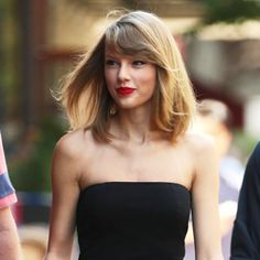 Taylor Swift Owns the Sidewalk in a Sexy Black Jumpsuit  #InStyle