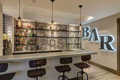 basement bar More
