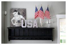 Glitter USA...I LOVE glitter;)