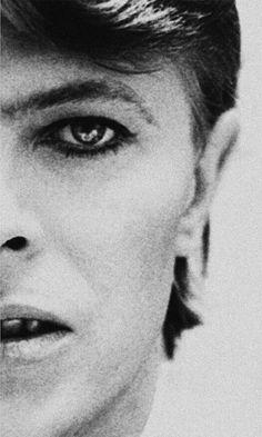 David Bowie, 1976, by Philippe Auliac