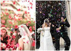 ¿Arroz y Confeti? ¿Que prefieres? | Preparar tu boda es facilisimo.com Wedding Dresses, Weddings, Fashion, Wedding Giveaways, Fertility Symbols, Rice, Bride Dresses, Moda, Bridal Wedding Dresses