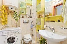 Small Bathroom Design Ideas with Multiple Shelves