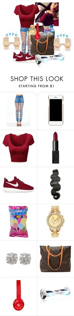 """""""Untitled #118"""" by sagw-271 ❤ liked on Polyvore featuring interior, interiors, interior design, home, home decor, interior decorating, Moschino, NARS Cosmetics, NIKE and Pieces"""
