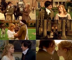 """Billie Piper as Fanny Price + Blake Riston as Edmund Bertram in Mansfield Park (2007) """"Is it possible to be so happy??"""" """"Yes. And let us make it our business, Mrs. Bertram."""""""