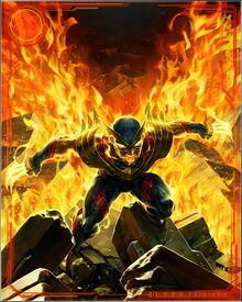With the power of the Phoenix Force, Wolverine's claws would be able to cut not just any physical substance short of vibranium, but the actual fabric of time and space. It would repair him so fast that he'd be healed again before his wounds were ever visible. In short, if he's already close to unkillable, the Phoenix Force would make him as invulnerable as any mortal ever has been. He'd be the best there is... only better.
