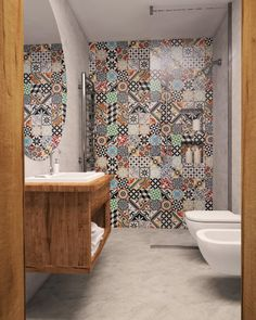 Bohemian tiles are massive at the moment, and they give you a great way to add some character to your surroundings.