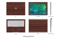 Stickerboy LG V10 Back Only Skin Carbon Fiber Metal Matte Wood Leather