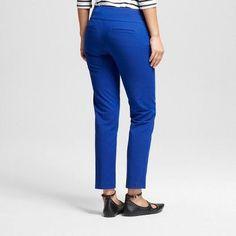 Women's Ankle Skinny Trouser Pants Blue 13-14 - Xoxo (Juniors')