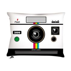 Instant Camera Pillow