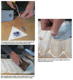 Ceramic Arts Daily – How to Make a Texture Board for Slab-Built Pottery