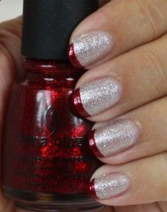 Christmas Manicure -- I love this. :)