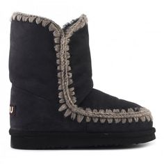 mou eskimo boots joff black #mou #shoes #fashion #christmas #lifestyle