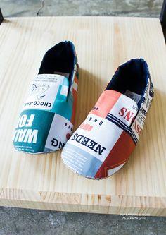 Mason Men's Shoes PDF Pattern