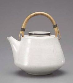 LUCIE RIE (Austrian-British: 1902-1995) - Tea Pot