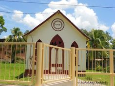 Wesleyan Methodist Church in Claxton Bay Trinidad, photographed by Rachel Amy Rochford