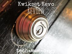 """""""I cannot tell you how excited I was to be asked to review the Kwikset Kevo, a bluetooth enabled deadbolt that allows you to simply touch the lock to open your door.  I know how geeky I sound right now, but it is SO COOL."""" - Nicole Kobika, Tech-mom-o-gy"""