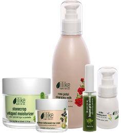 ilike Organic Skin Care   #Skin1giveaway