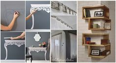DIY Projects: The once that can change your home!Everybody wants to make his/her home attractive as well as good looking and there are many techniques which people apply to achieve this purpose of theirs. Nowadays we have many DIY Projects as well that can Make Your Home Look Classy. Thes