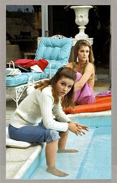 Sharon Tate and Patty Duke in Valley of the Dolls...a movie that's as campy, maudlin, pretty and wonderful