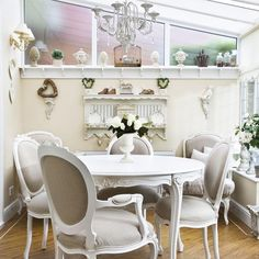 Conservatory dining room | Dining room | Extension ideas | Image | housetohome.co.uk