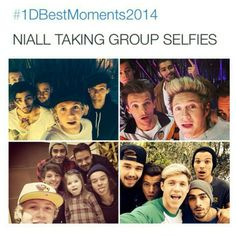 Niall takes the greatest selfies >>> Yes! But Niall- DONT STOOOOOOPPP DOING WHAT YOURE DOING! I love those selfies!!