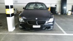 GRILL FRONTGRILL KÜHLERGRILL für BMW E63 6er CABRIO COUPE SCHWARZ MATT BLACK DS